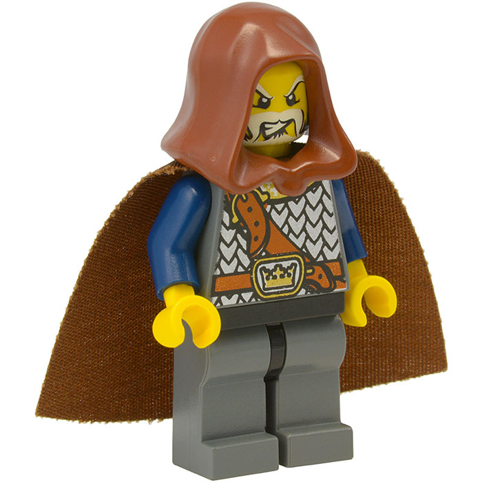 1x Minifig headgear cagoule hood jawa marron//reddish brown 30381 NEUF Lego