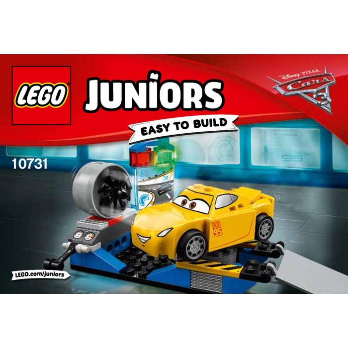 Lego Cruz Ramirez Race Simulator Set 10731 Instructions Brick Owl