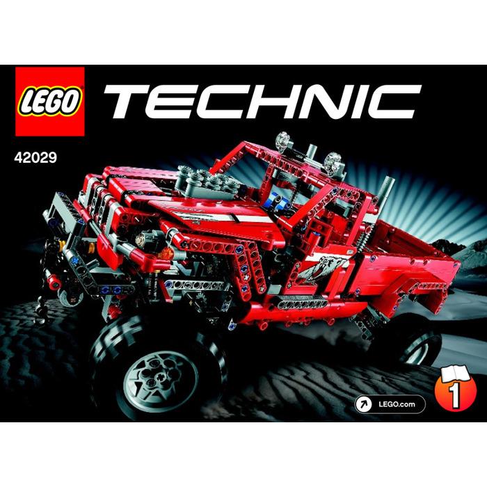 Lego Customised Pick Up Truck Set 42029 Instructions Brick Owl