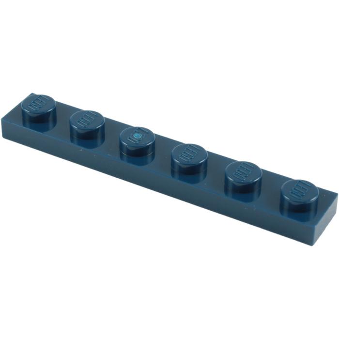 marron orange foncé Plate 1x6 1 x LEGO 3666 Plaque NEUF NEW dark orange
