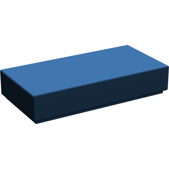 4 x Lego 3069 Plate smooth Flat Tile 1x2 with groove NEW NEW blue sand