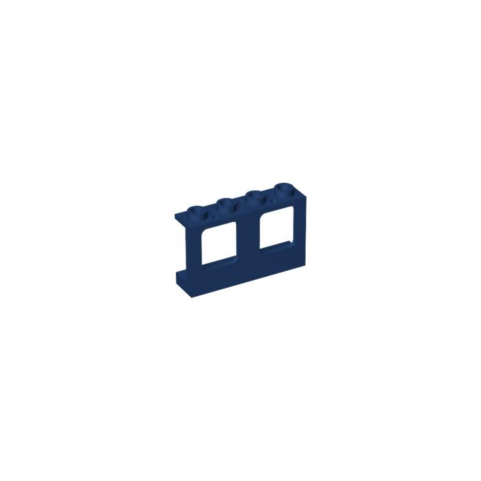 Dark Blue Wall Bedroom Ideas: LEGO Dark Blue Wall With Window 1 X 4 X 2 (61345)