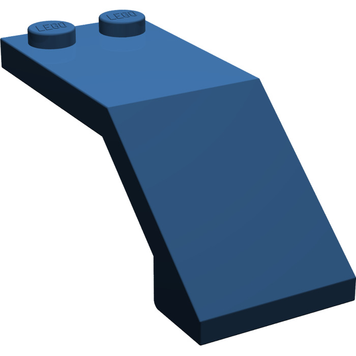 lego dark blue windscreen 5 x 2 x 1 2 3 6070 brick. Black Bedroom Furniture Sets. Home Design Ideas