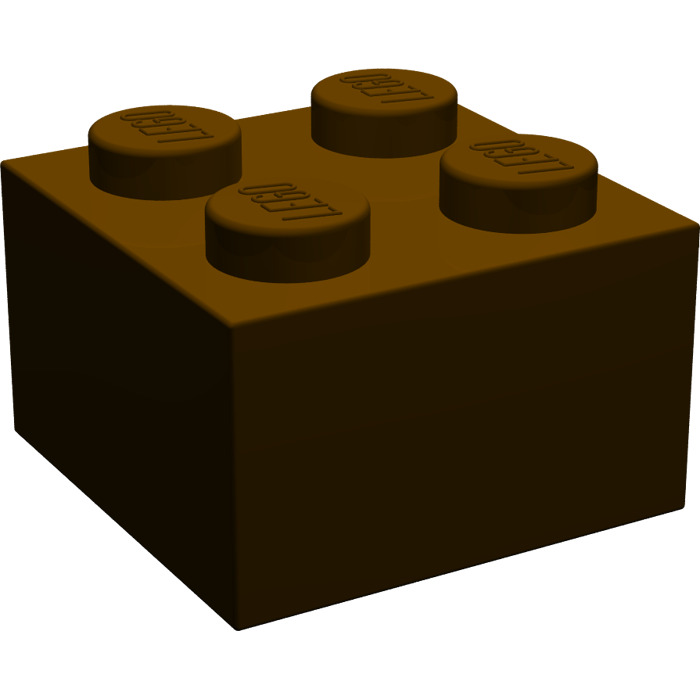 Brick 2x2 reddish brown NEUF NEW marron 8 x LEGO 3003 Brique