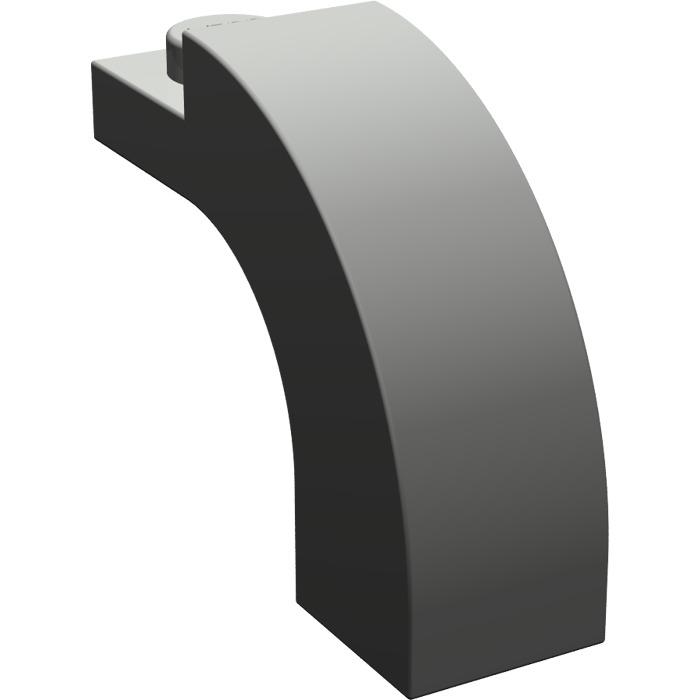 145515ba014f LEGO Dark Gray Arch 1 x 3 x 2 with Curved Top (6005)