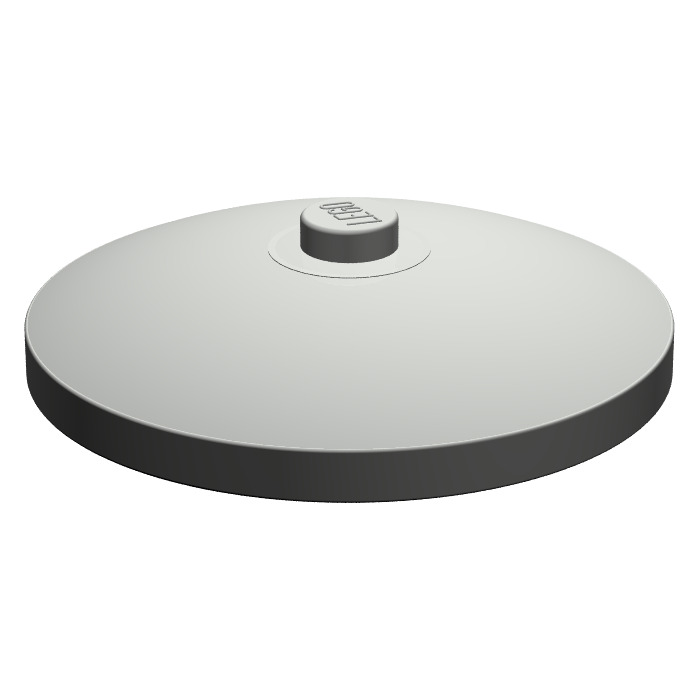 LEGO 4x White Dish 4x4 Inverted Radar NEW 3960 396001