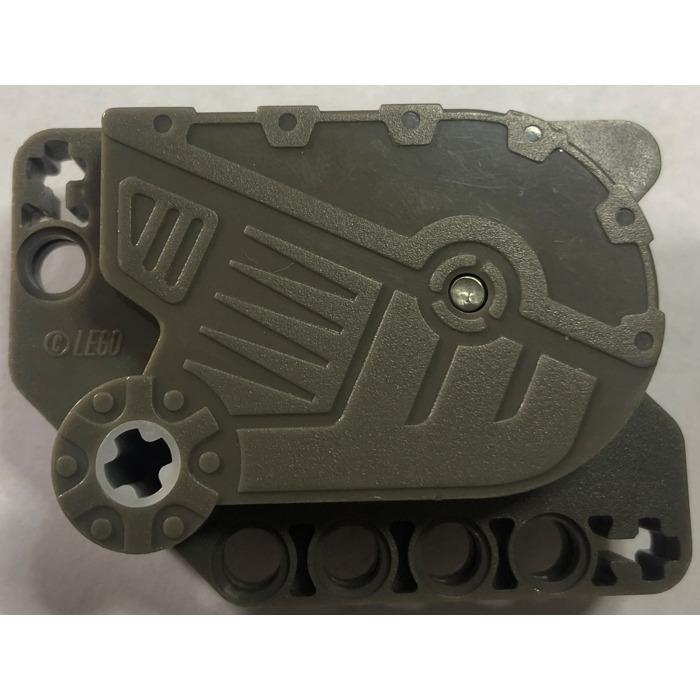 Motor #6 - Dark Bluish Gray LEGO Pullback Motor 7 x 5 x 3