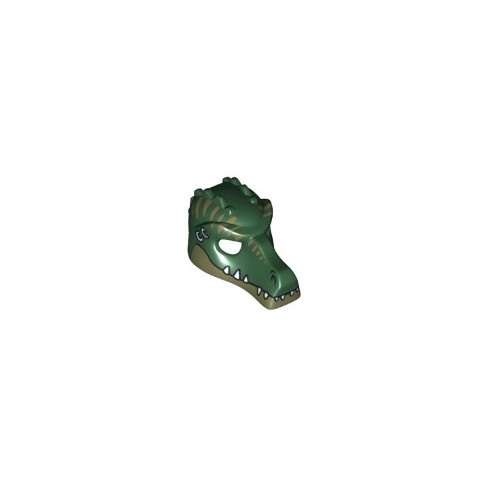 Lego Dark Green Crocodile Minifigure