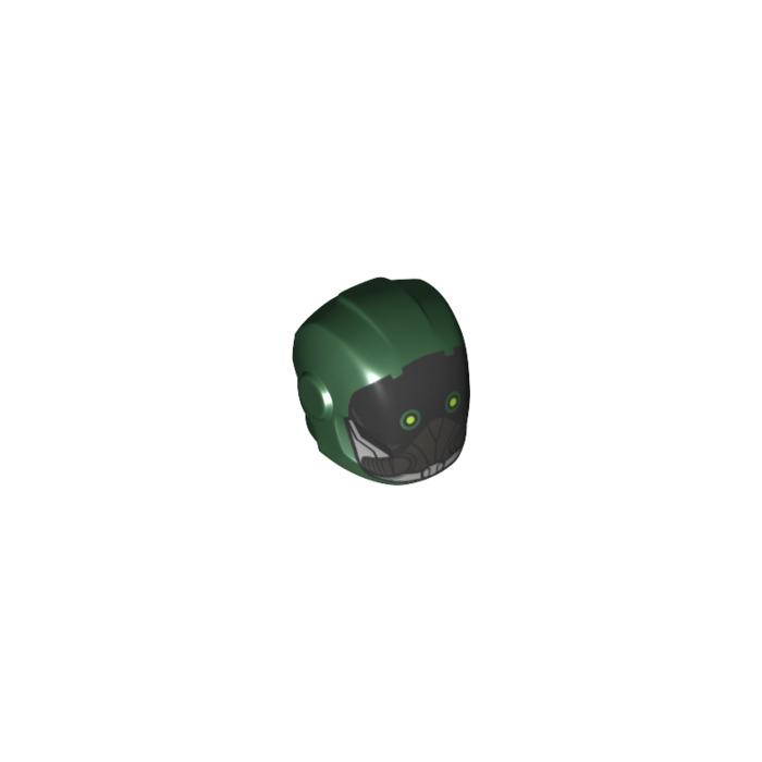 Lego Dark Green Minifig Hood Headgear NEW