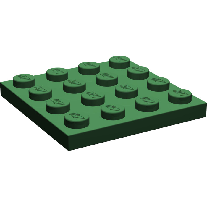 3031 x4 in a set *BRAND NEW* City Marvel Pirates Lego Green 4 x 4 Flat Plate