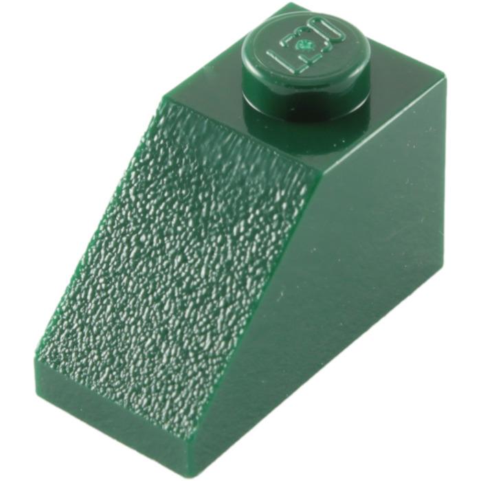 15 x LEGO 3040 dark tan Brick with slope  1 2 1 x 2 vgc postage discount