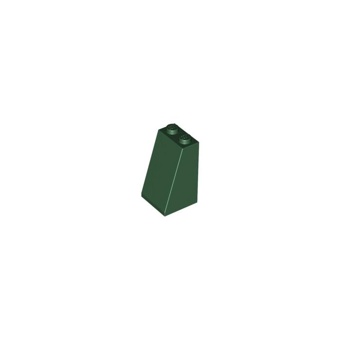 LEGO Parts~ Slope 75° 2 x 2 x 3 Solid Studs 3684c DARK TAN 3