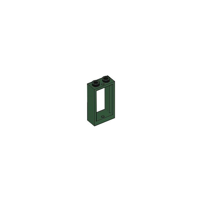 Dark Green NEUF Plant sea grass Lego 30093-4x Feuille algue herbe marine