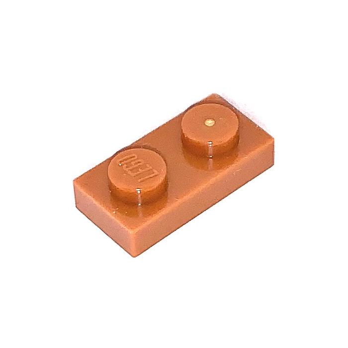 LEGO® Dark Orange Plate 1 x 2 Design ID 3023