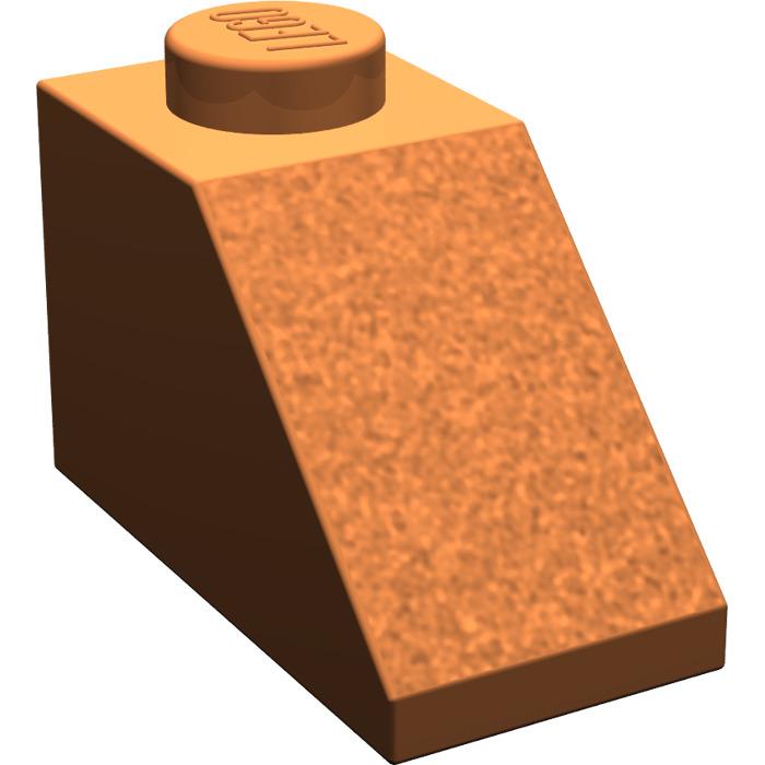 45 NEW LEGO Brick 1 x 2 BRICKS Dark Orange