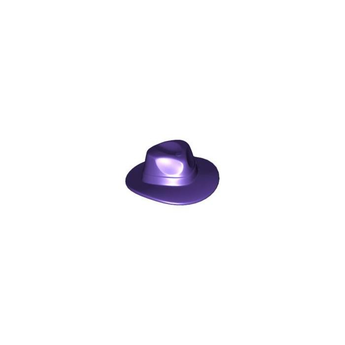 e10d6c3afdc4f LEGO Dark Purple Fedora Hat (61506)