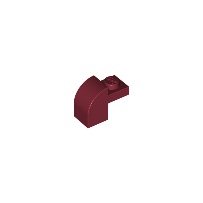 rouge, red Brick 1x2x1 Curved Top NEUF NEW 6 x LEGO 6091 Brique Courbée