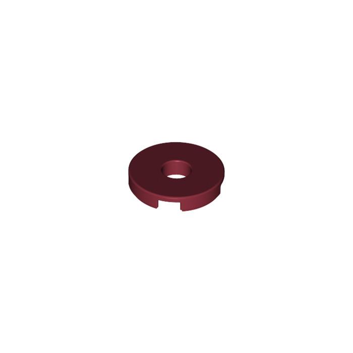 beige dark tan Round Tile 2x2 Hole NEUF NEW 4 x LEGO 15535 Plaque Ronde Trou