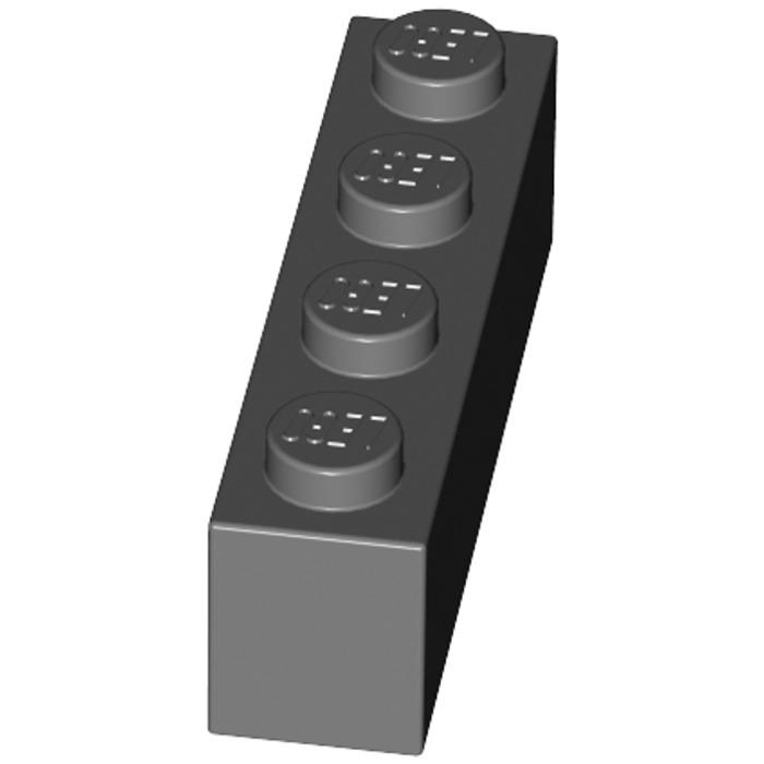 Lego 4x Stein 1x4 Dunkel Grau Dark Bluish Gray Brick 3010 Neuware New