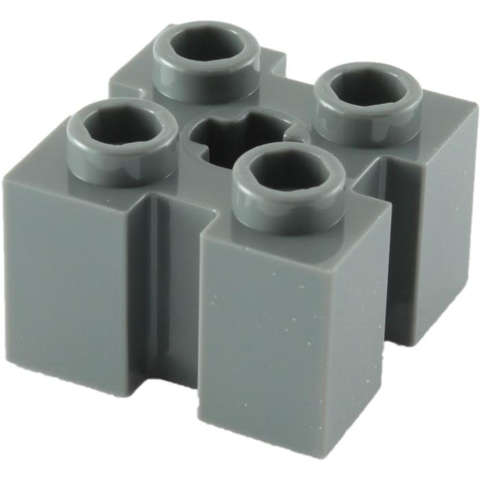 Set 75222 5887 9516... 2 x LEGO MdStone brick  1 x 2 x 5 with Groove ref 88393