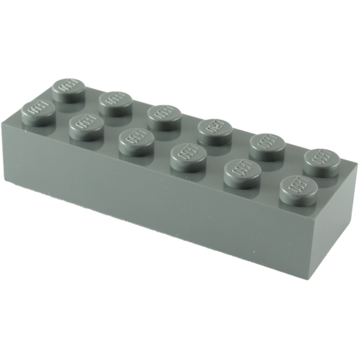 Lego NEW light bluish gray 2 x 6 standard bricks   Lot of 4