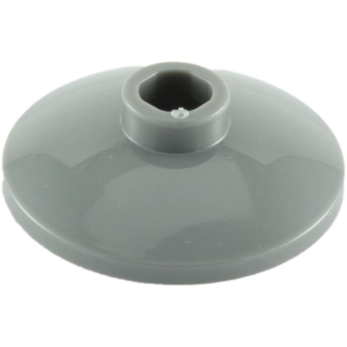Radar LEGO® Black Dish 2 x 2 Inverted Design ID 4740