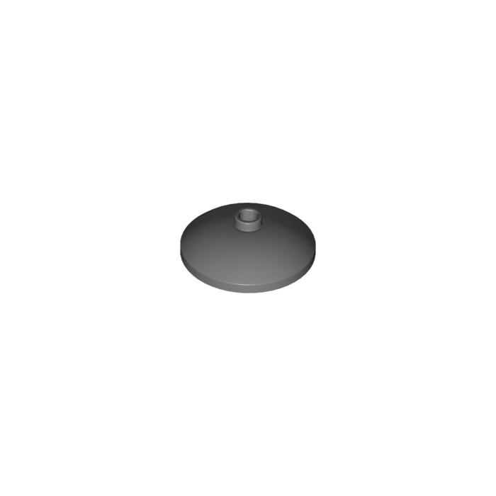 Radar LEGO 43898 in Black x 2 Dish 3 x 3 Inverted