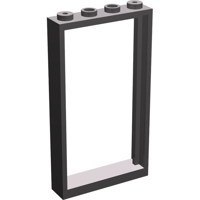 LEGO Dark Stone Gray Door Frame 1 x 4 x 6 (Double Sided) (30179 ...