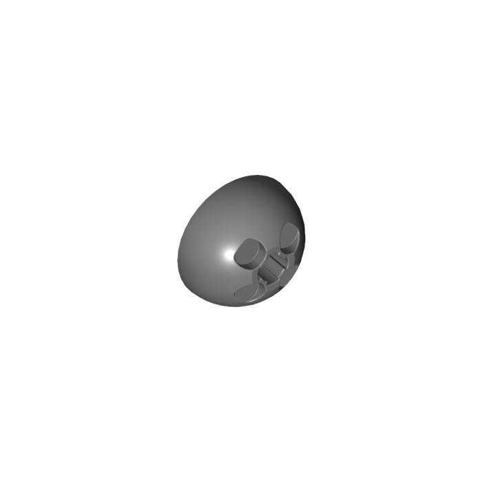 old gray Emisfero 3x3 Grigio scuro 1x LEGO 44359 4182762