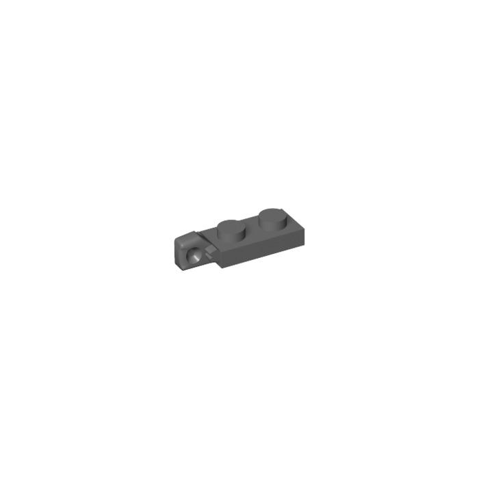 White, White 4 x Lego 44301 Eyelet Plate Hinge Flat 1x2 LATCH NEW NEW