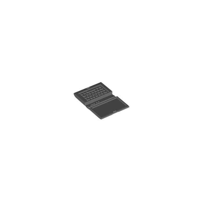 1 x LEGO 18659 Minifigure Ordinateur Portable Computer Laptop NEUF NEW noir