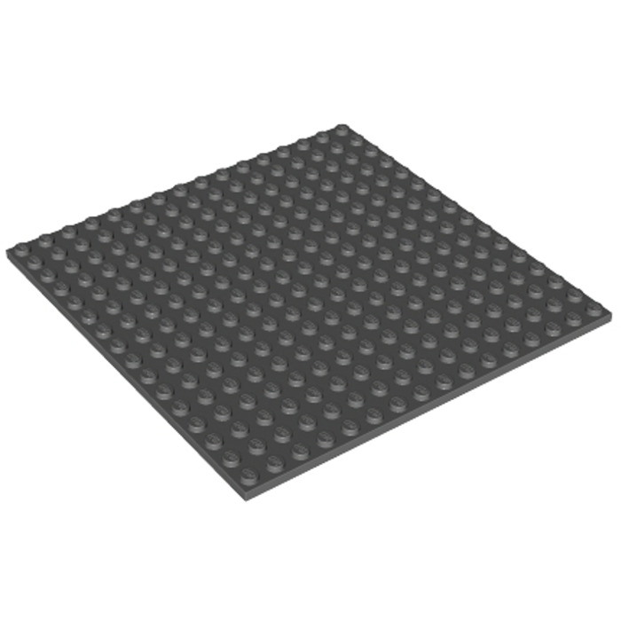 LEGO City Base Plate Building Board 32 x 16 Dark Grey Thin Set