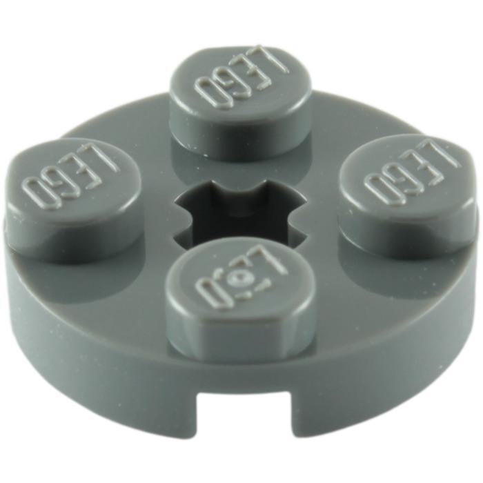 Part 4032 Qty:25 New Lego Dark Stone Grey Plate Round 2x2 Element 4211042