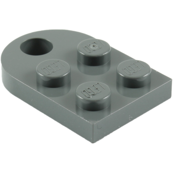 Lego 5 New Black Plates Modified 3 x 2 with Hole Pieces
