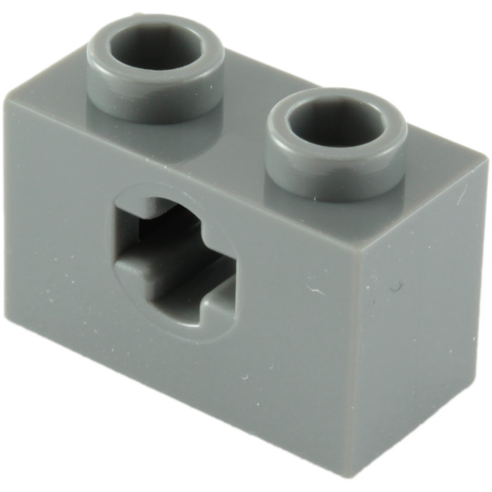 LEGO Yellow Technic Brick 1x2 Axle Hole Lot of 100 Parts Pieces 32064