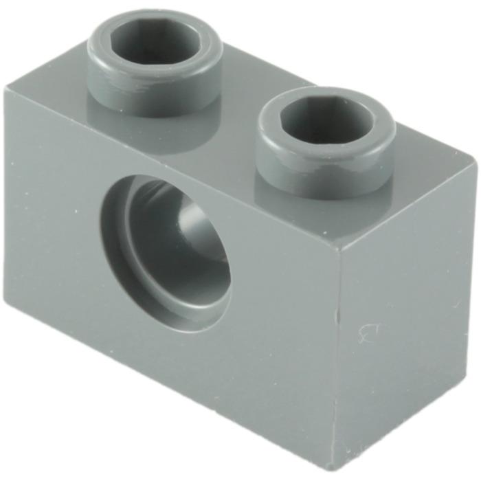 Lego Technic Brick Brique 1x2 2x1 Hole Type II 3700b Choose Color /& Quantity