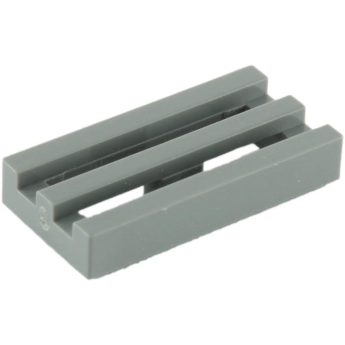 Lego 4210631-2 X 1 Tile Grill Radiator Dark Grey Set Of Four From Set 75266