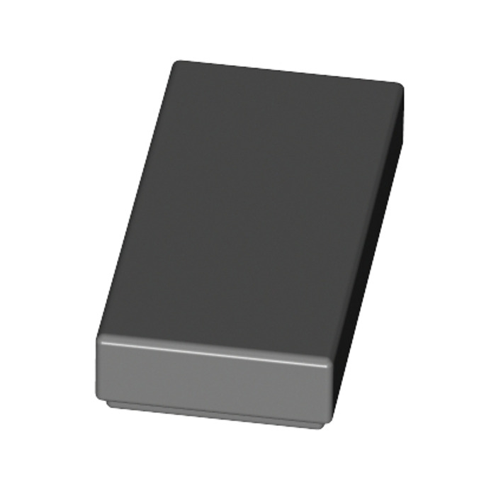 Grey, Grey flat tile 1x2 with Groove Lego 6 x 3069 Smooth Plate