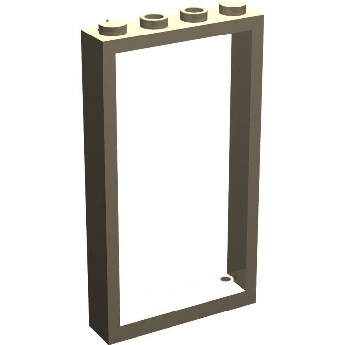 Door frame 1x4x6 40289 Neuf lego 60596-2x Cadre porte Dark Tan Beige