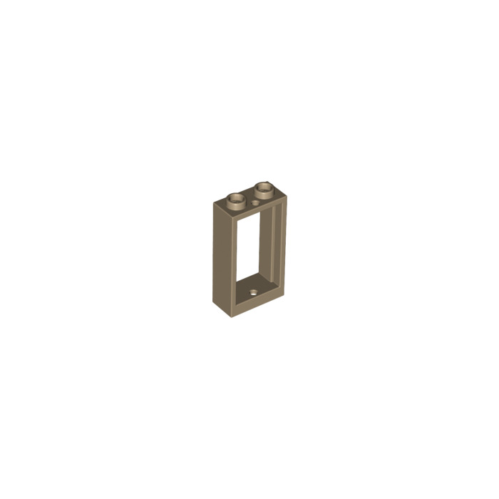 Lego dark tan window 1 x 2 x 3 without sill 60593 for Fenetre lego