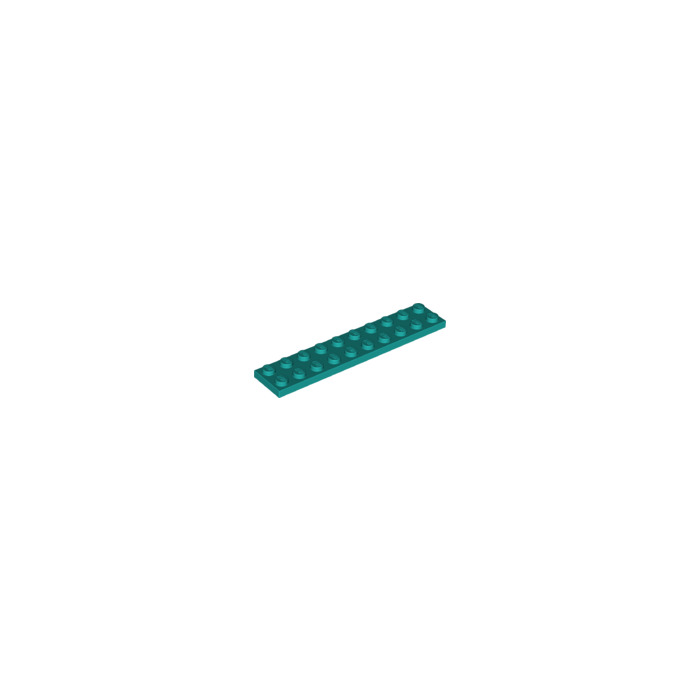 LEGO NEW 2x10 Light Bluish Grey Plate 5x 4211462 Brick 3832