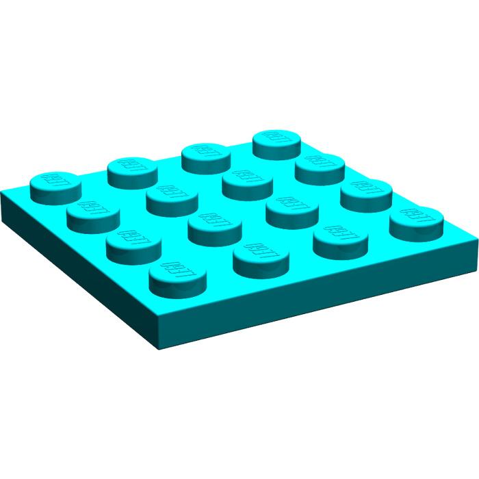 Lot x4 Lego 3031 Plaque GRIS F//D GREY  Plate 4x4-4243831