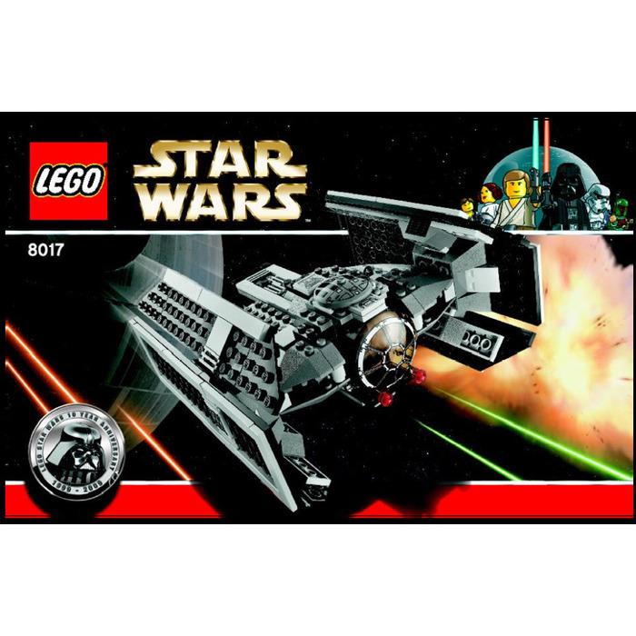 Lego Darth Vaders Tie Fighter Set 8017 Instructions Brick Owl