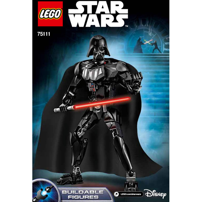 LEGO Darth Vader Set 75111 Instructions | Brick Owl - LEGO ...