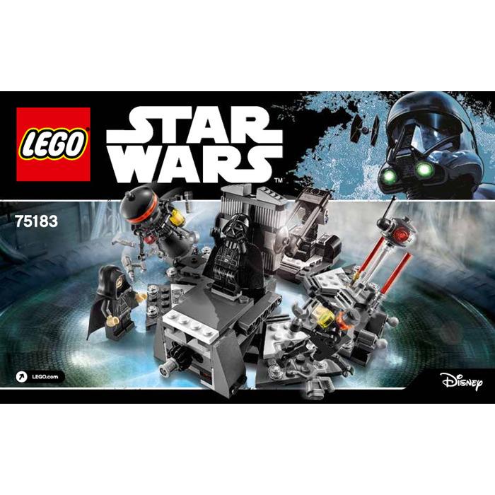 Lego Darth Vader Transformation Set 75183 Instructions Brick Owl