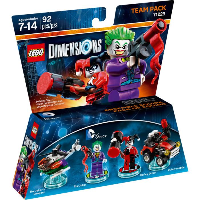 Lego Dc Comics Team Pack Set 71229 Packaging Brick Owl Lego