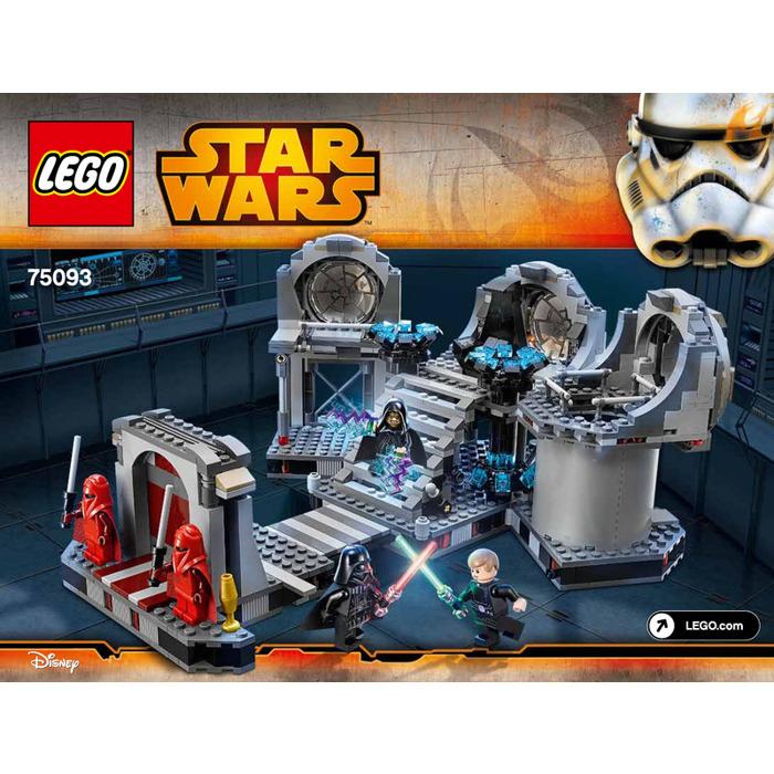 Lego Death Star Final Duel Set 75093 Instructions Brick Owl Lego