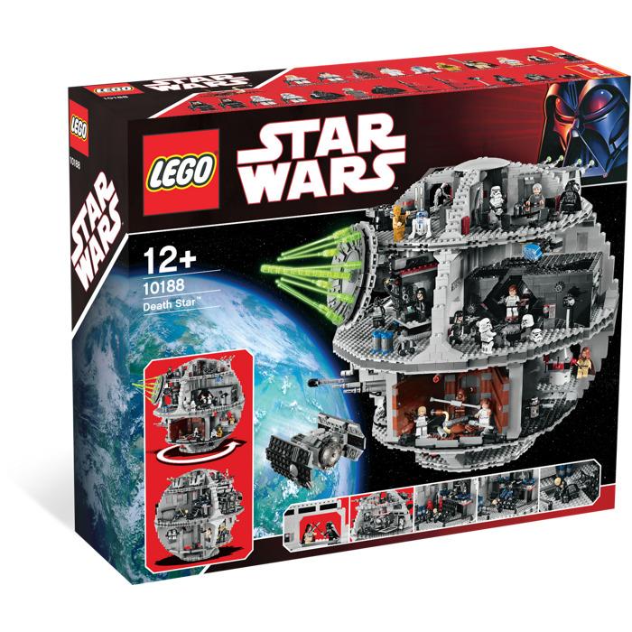 lego star wars death star 10188 instructions
