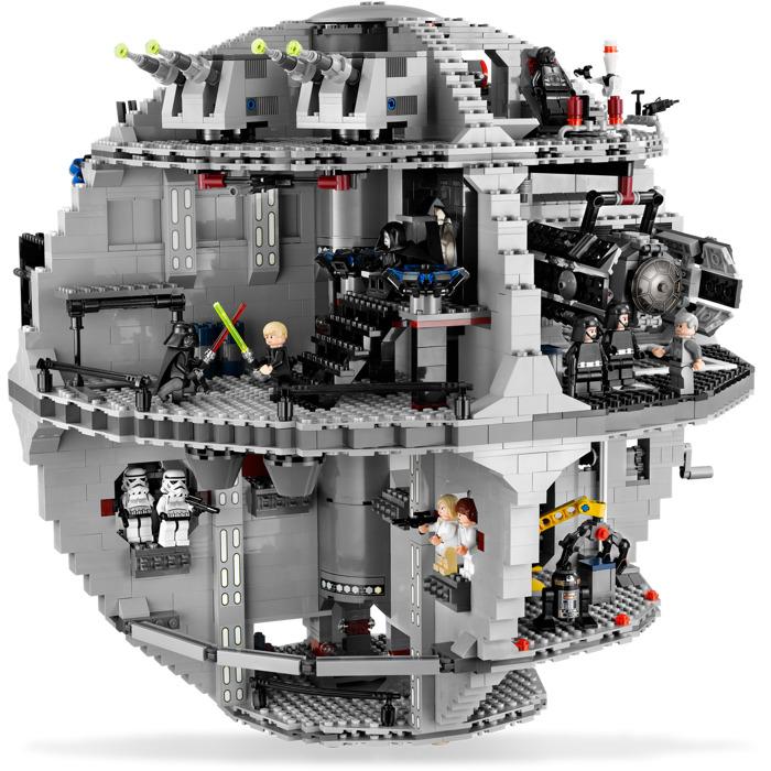 Death Star Lego Pieces