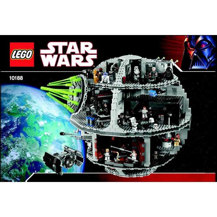 Lego Death Star Set 10188 Instructions Brick Owl Lego Marketplace